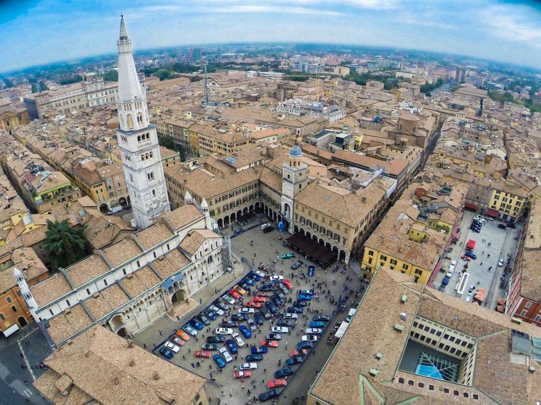 Maserati 100 Gathering in Modena Day 1 and 2