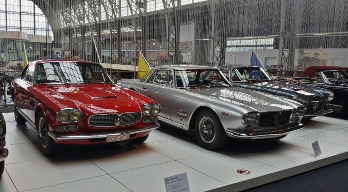 Maserati 100 Mega Exhibition at AutoWorld Museum