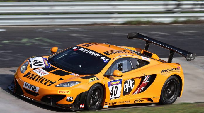 Doerr Motorsport McLaren 12C GT3