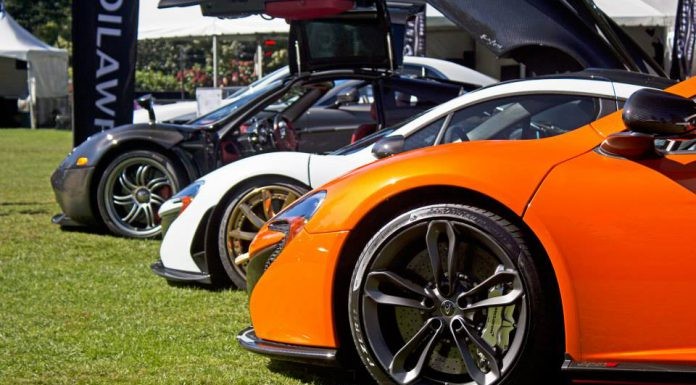 McLaren at Luxury and Supercar Weekend Vancouver