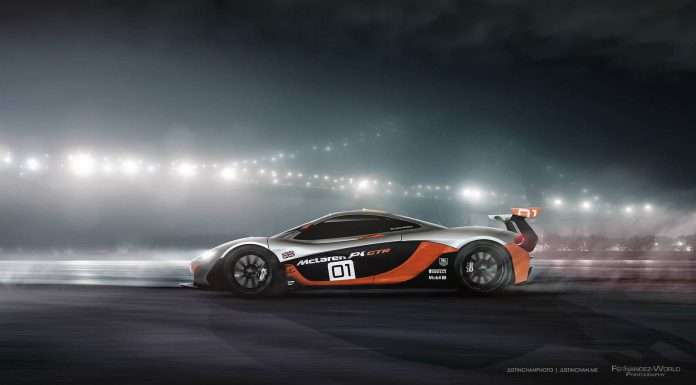 Stunning McLaren P1 GTR Photoshoot!