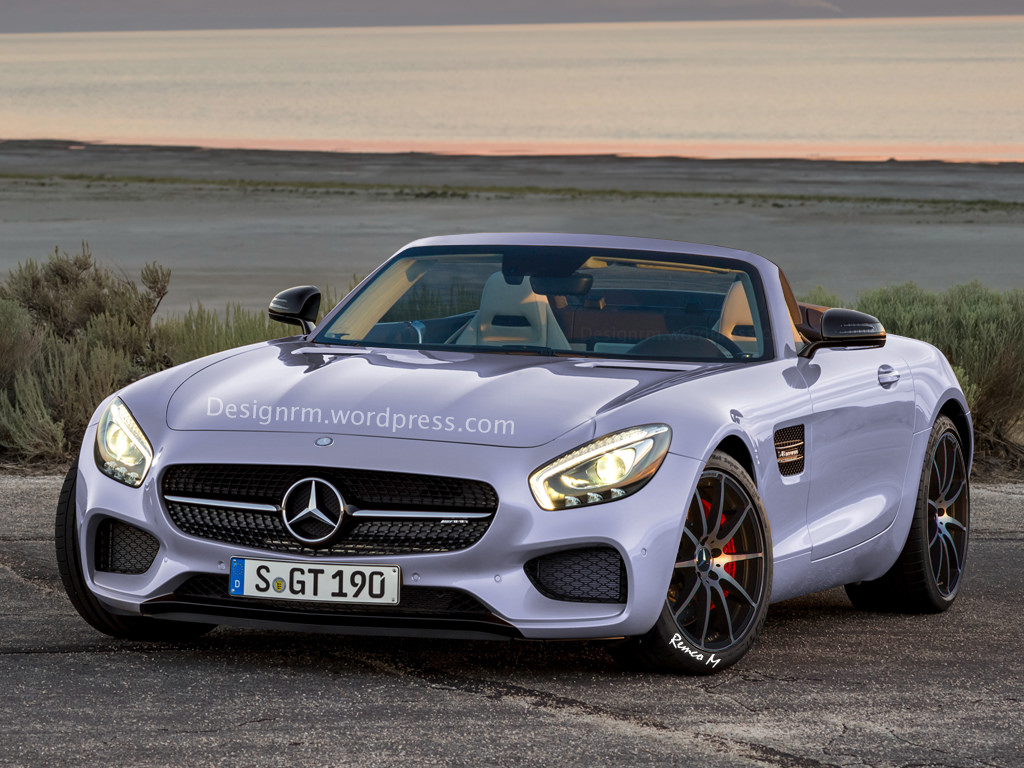 mercedes amg gt roadster already rendered gtspirit. Black Bedroom Furniture Sets. Home Design Ideas