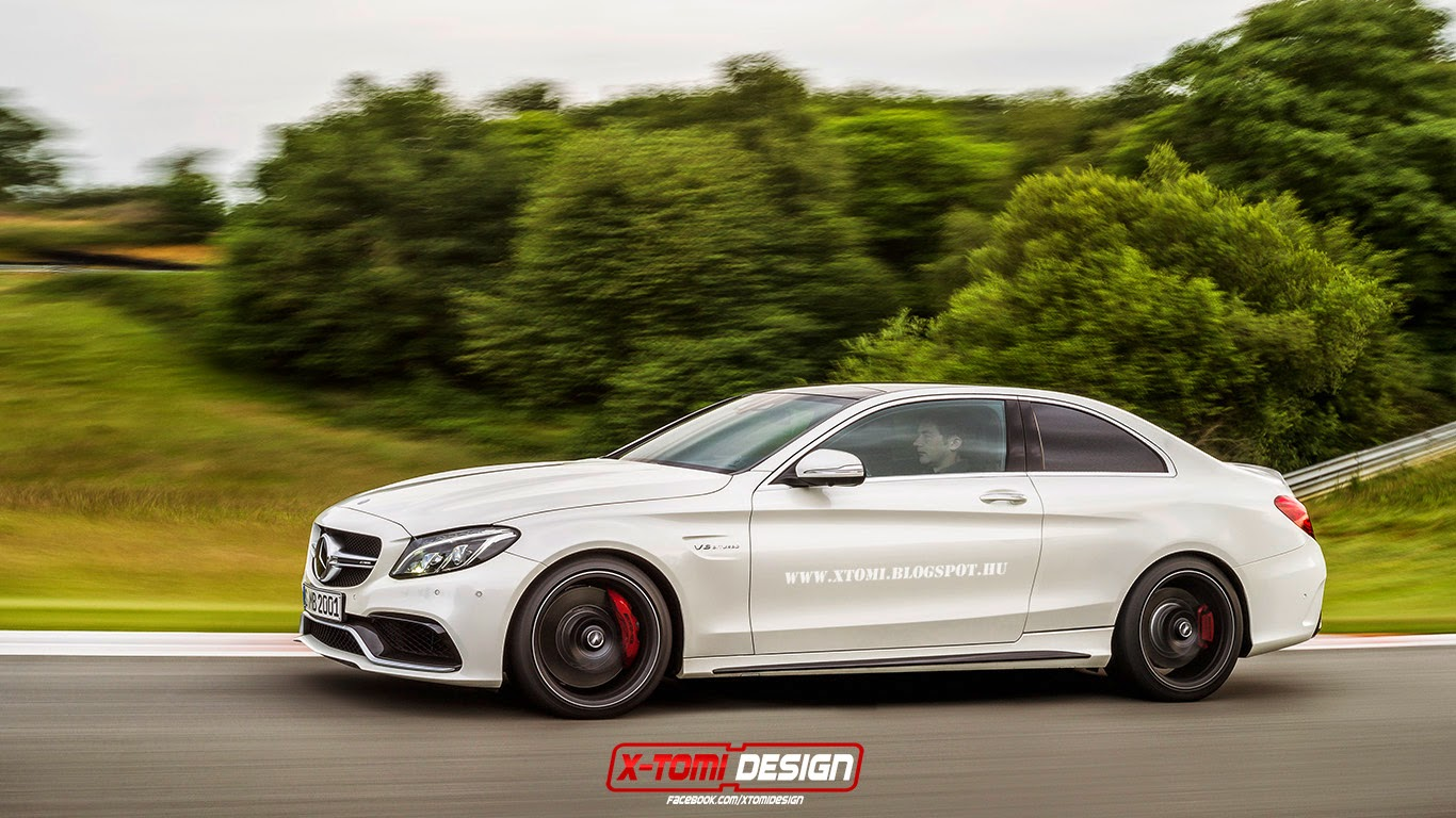 Mercedes amg c63 s coupe rendered gtspirit for Mercedes benz c63 amg sedan