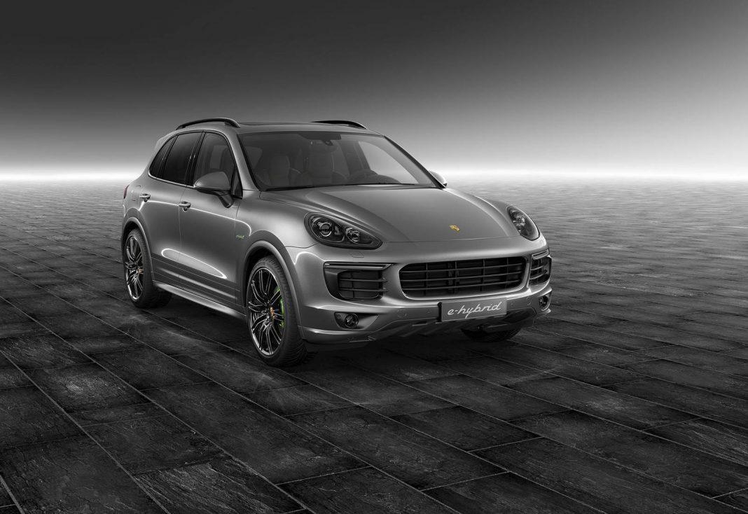 Meteor Grey Metallic Cayenne S E-Hybrid by Porsche Exclusive