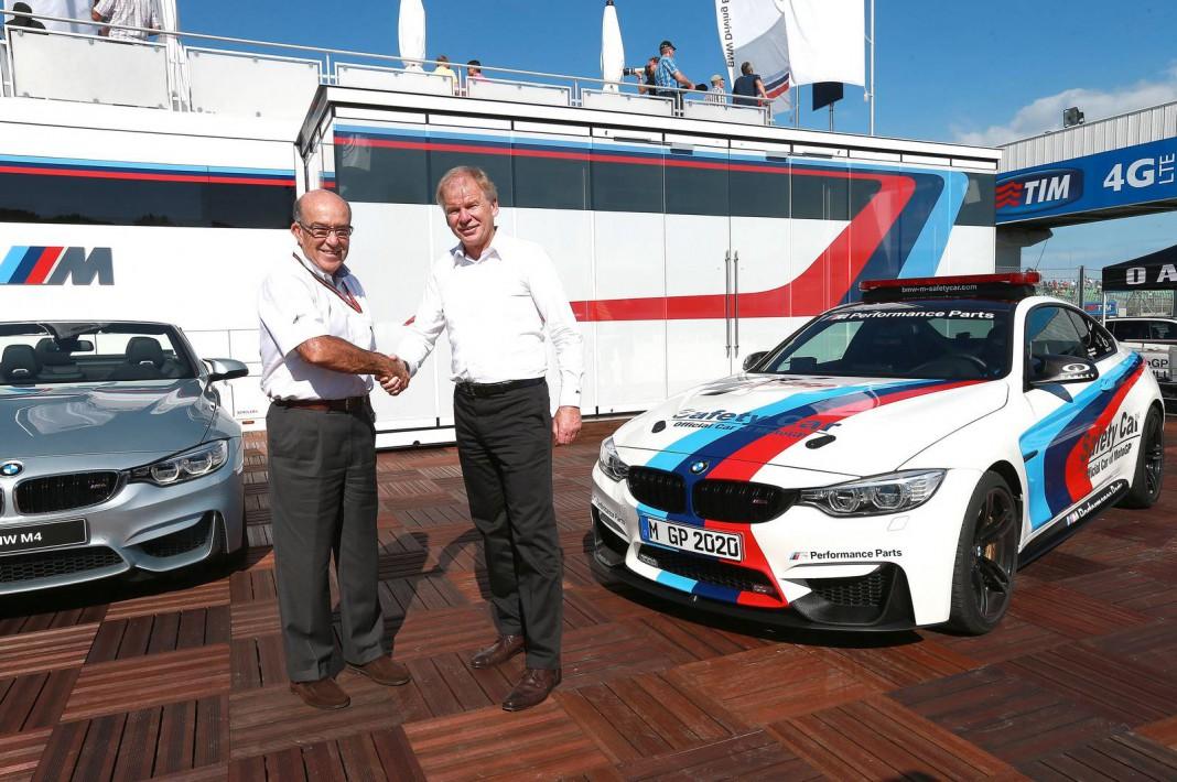 BMW M and Moto GP Extend Partnership to 2020