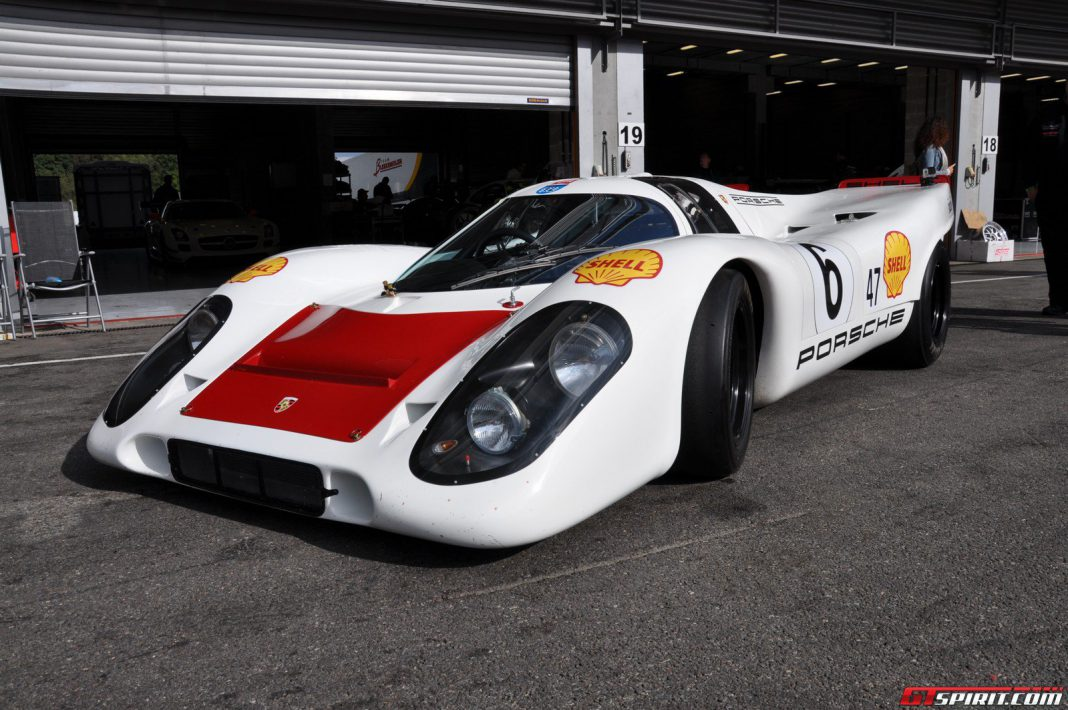 Porsche 917 Amp 918 Spyder At Curbstone Track Events Spa