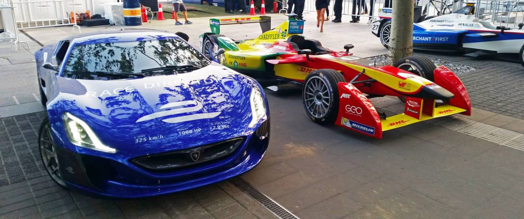 Rimac Concept One Kicks-Off Formula E Campaign as Race Director