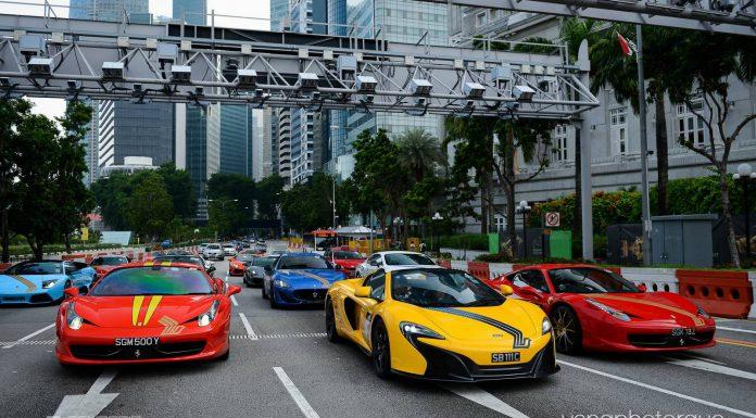 Gallery: Scuderia FSG SIA F1 Event in Singapore