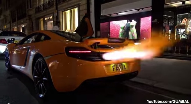 how to make exhaust shoot flames