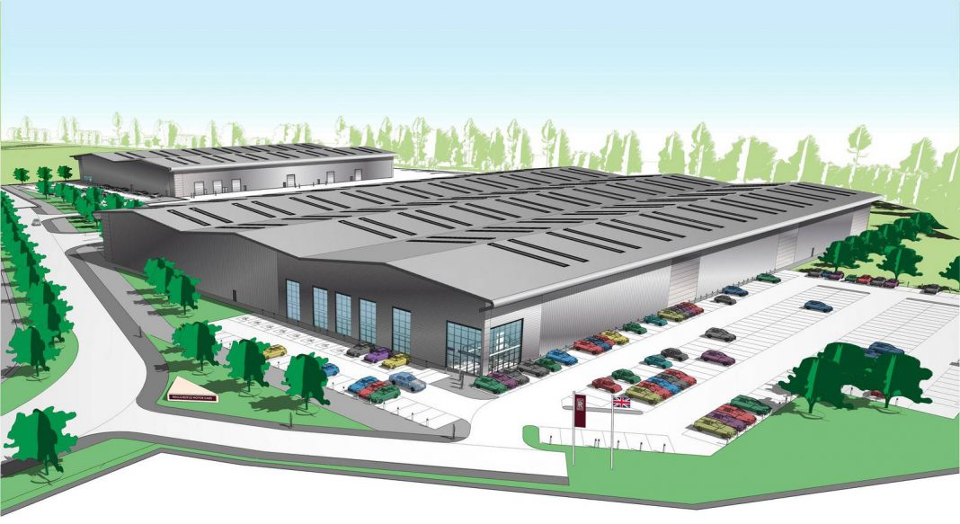 Rolls-Royce to Build New Technology and Logistics Centre at Bognor Regis