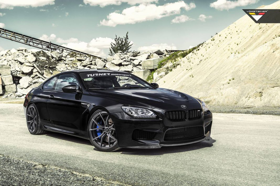 vorsteiner black sapphire metallic bmw m6 gtspirit. Black Bedroom Furniture Sets. Home Design Ideas