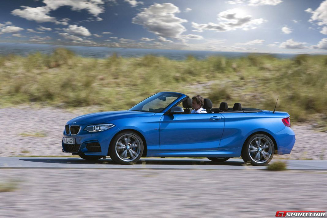 Official: 2015 BMW M235i Convertible