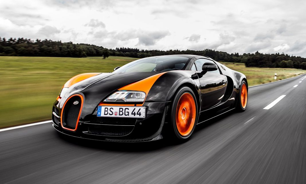 bugatti veyron grand sport vitesse world record car review gtspirit. Black Bedroom Furniture Sets. Home Design Ideas