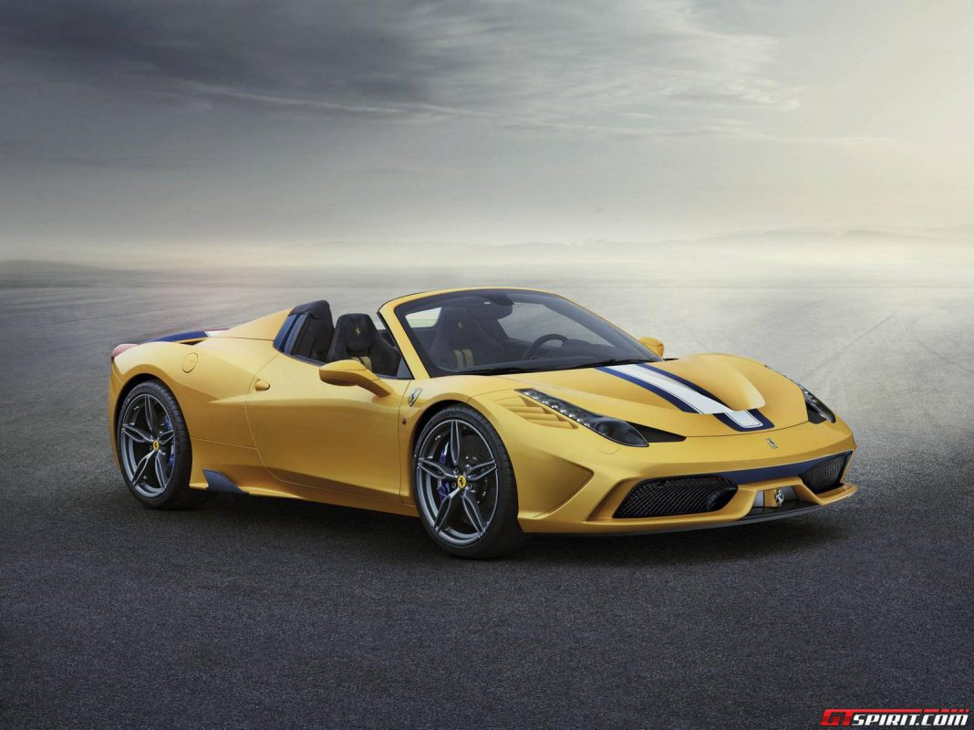 Official: Ferrari 458 Speciale Aperta