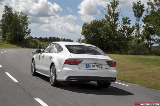 2015 Audi A7 Facelift Rear