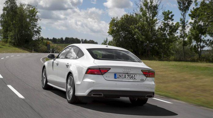2015 Audi A7 Facelift Rear