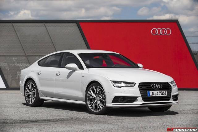 Audi A7 White 2015
