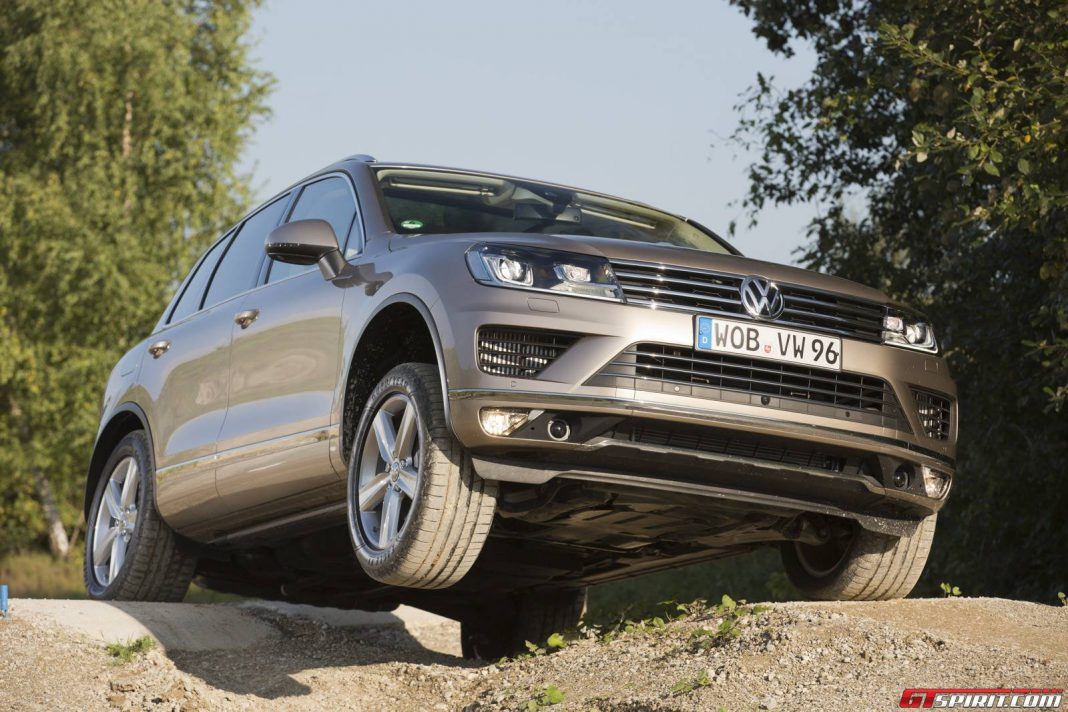 volkswagen touareg facelift review gtspirit