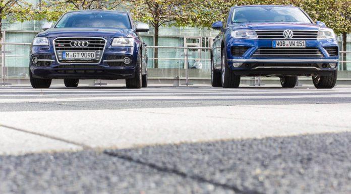2015 Volkswagen Touareg Facelift vs Audi SQ5