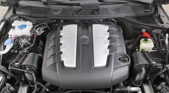 2015 Volkswagen Touareg Facelift Engine