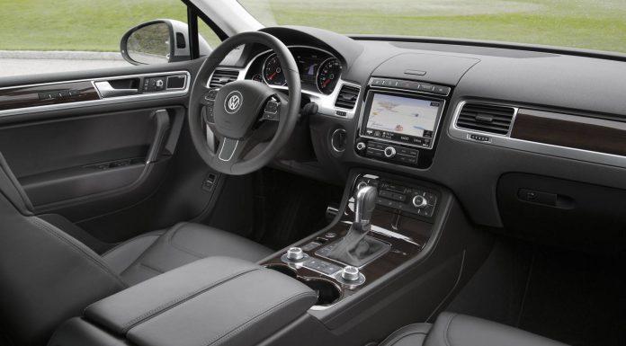 2015 Volkswagen Touareg Facelift Interior