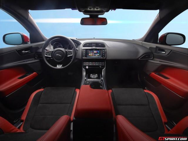 2015 Jaguar XE Interior Official Photos