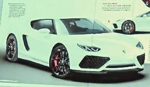 Lamborghini Asterion Concept Pictures Leak Gtspirit
