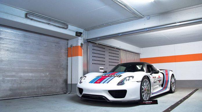Gallery: Martini Porsche 918 Spyder Weissach Package
