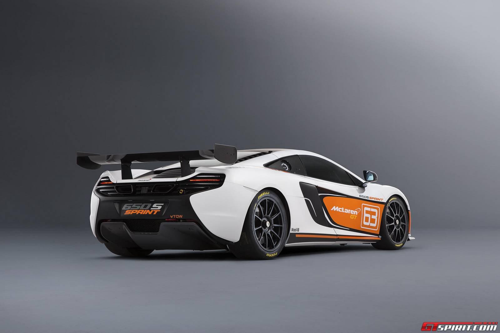 mclaren 650s sprint to make race debut at donington park uk gtspirit. Black Bedroom Furniture Sets. Home Design Ideas