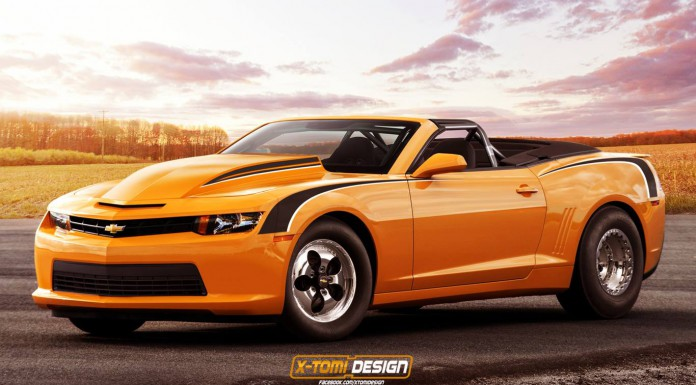 Render: 2014 Copo Camaro Convertible