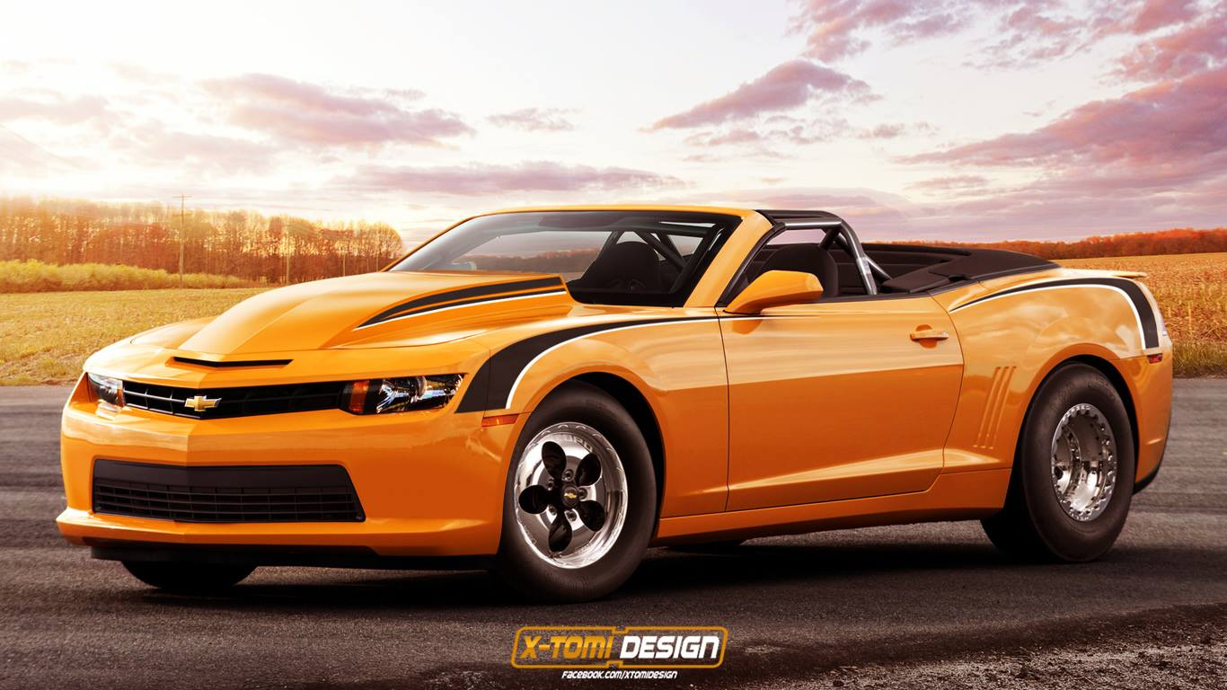 car news renderings render 2014 chevrolet copo camaro convertible. Cars Review. Best American Auto & Cars Review
