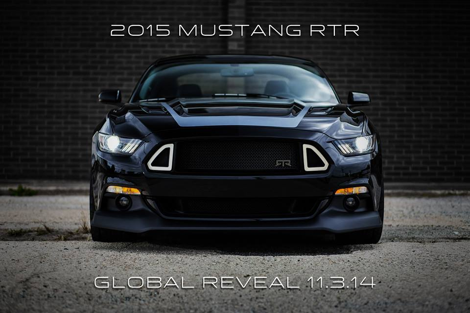 2015 Mustang RTR