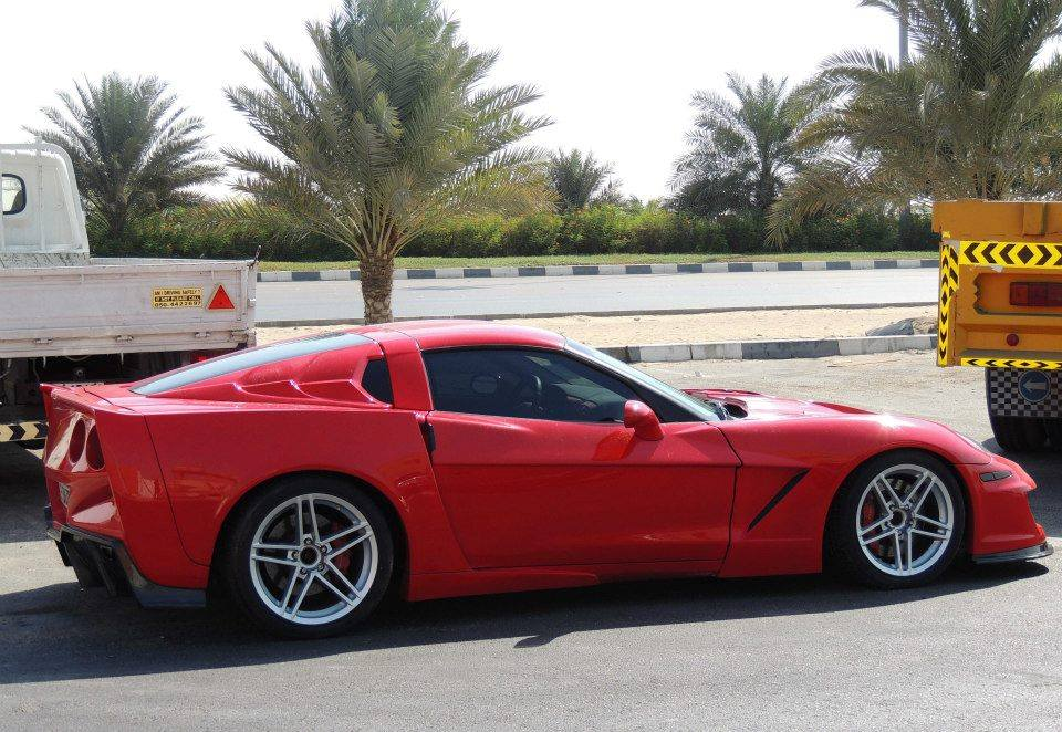 overkill widebody corvette c6 from dubai gtspirit. Black Bedroom Furniture Sets. Home Design Ideas