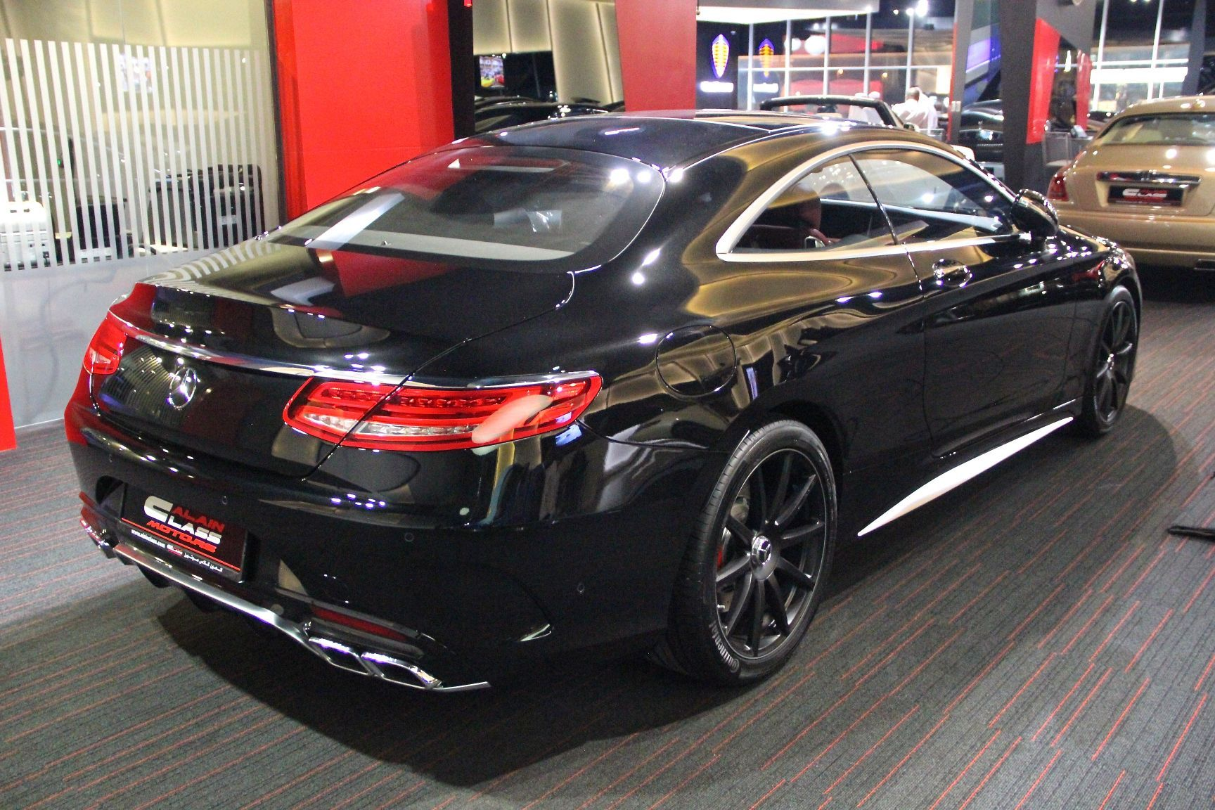 Early Mercedes Benz S63 Amg Coupe For Sale In Dubai Gtspirit