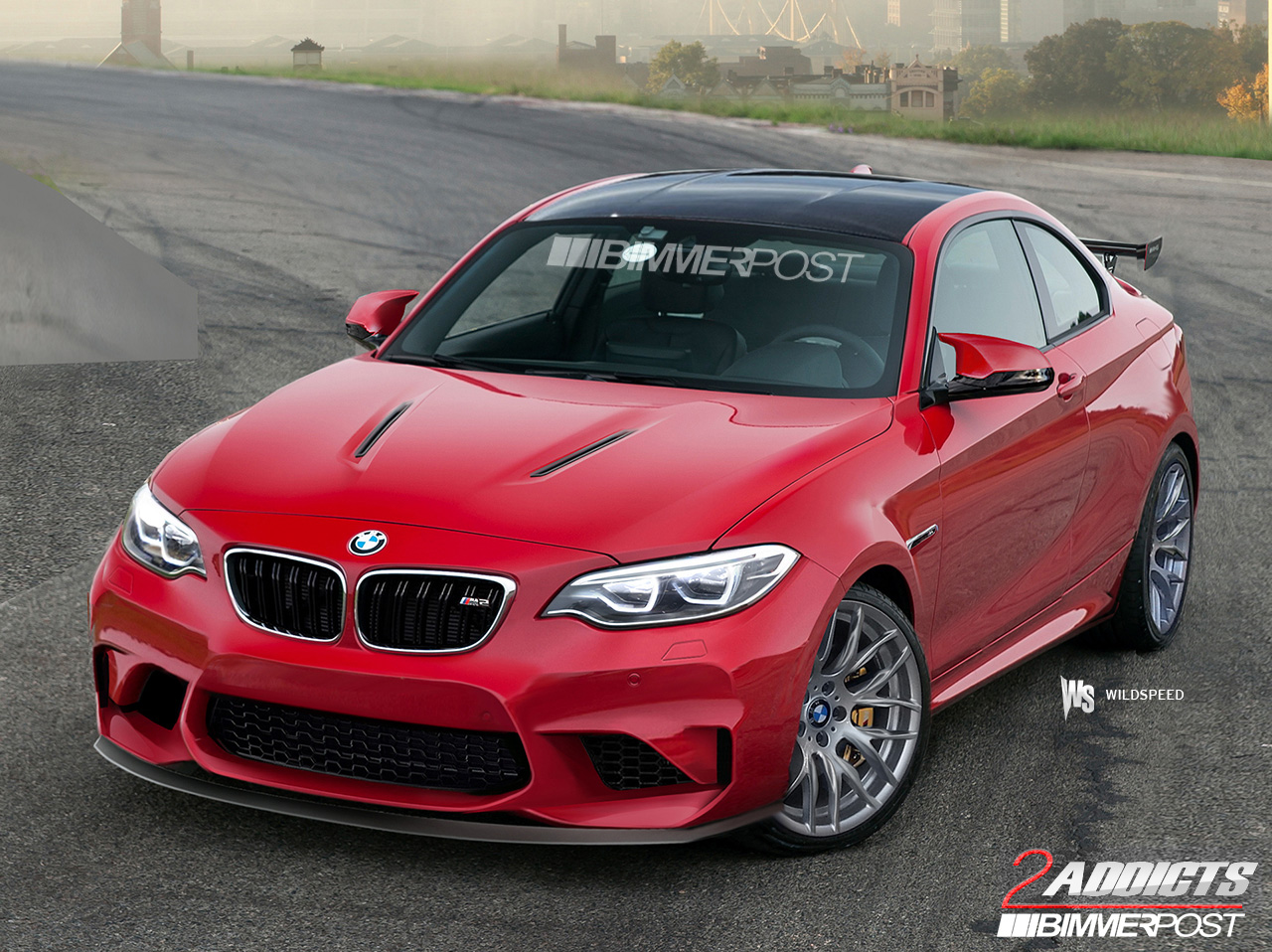 upcoming bmw m2 rendered once again better than ever gtspirit. Black Bedroom Furniture Sets. Home Design Ideas