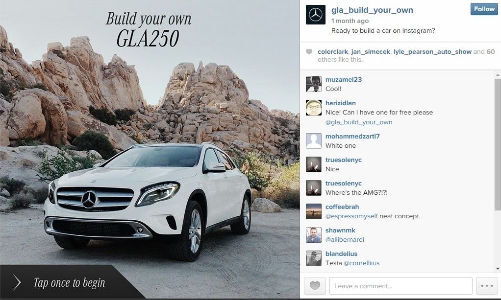 Build Your Own Mercedes-Benz GLA