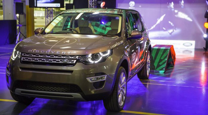 First Land Rover Discovery Sport Rolls Off Production Line