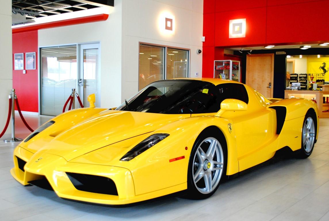 yellow ferrari enzo hits the market at 2 7 million gtspirit