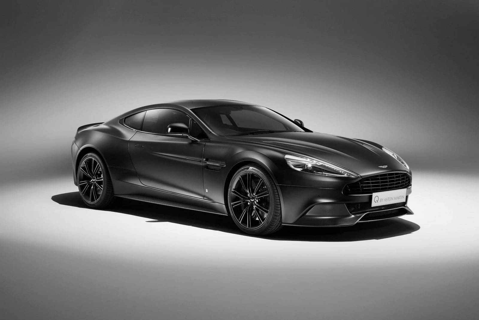 Q By Aston Martin Reveals New Jet Black Vanquish Coupe