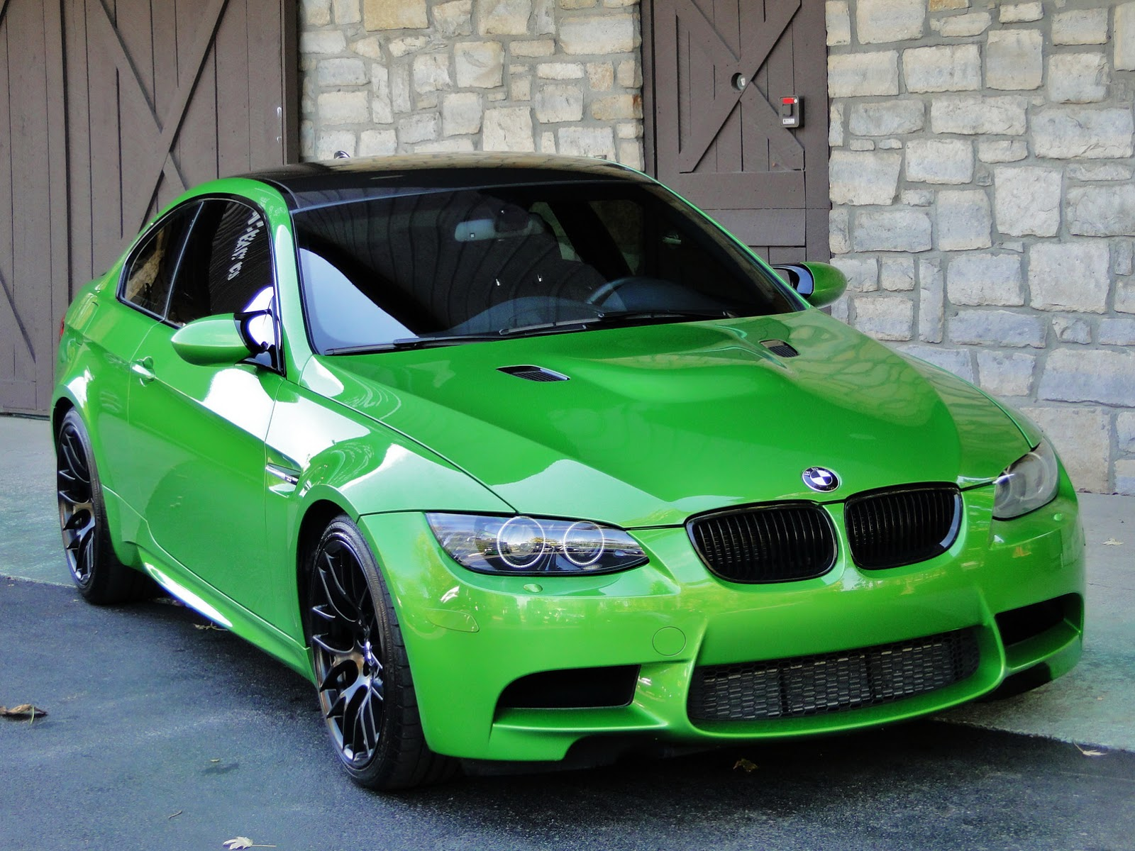 bmw m3 coupe green - photo #4