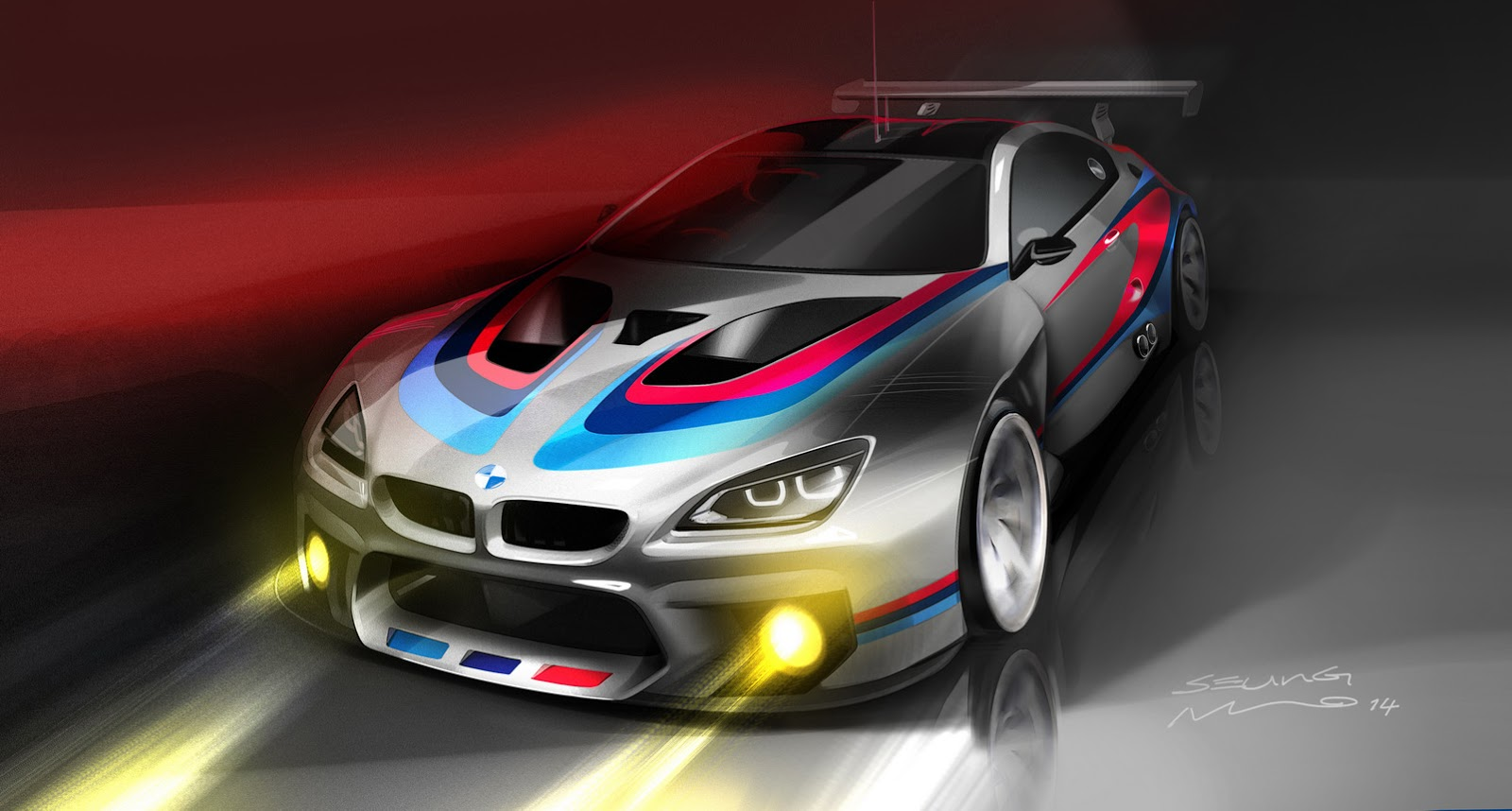 Upcoming Bmw M6 Coupe Gt3 Teased Gtspirit