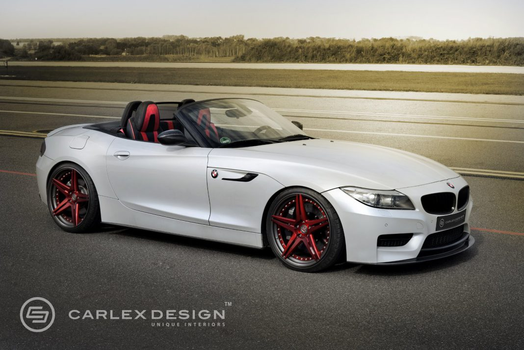 Official: BMW Z4 Red Carbonic by Carlex Design