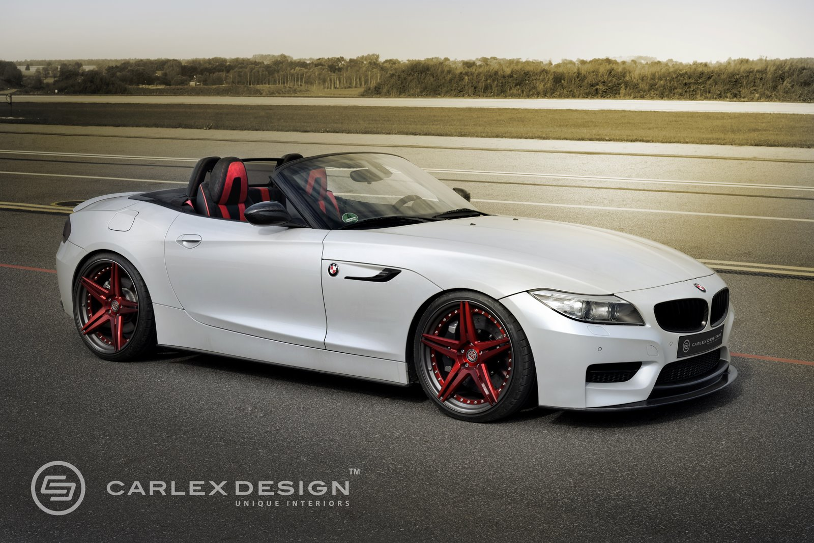 official bmw z4 red carbonic by carlex design gtspirit. Black Bedroom Furniture Sets. Home Design Ideas
