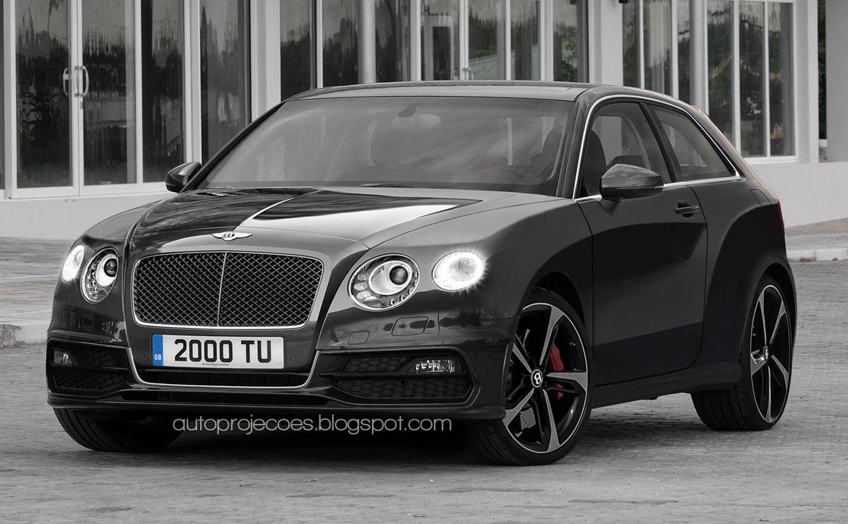 Bentley car news mini bentley suv rendered