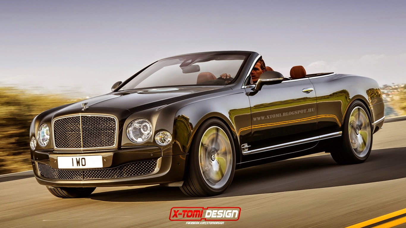 bentley mulsanne speed convertible imagined gtspirit. Black Bedroom Furniture Sets. Home Design Ideas