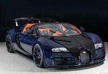 For Sale: Unique Blue Carbon Bugatti Veyron Vitesse in Japan