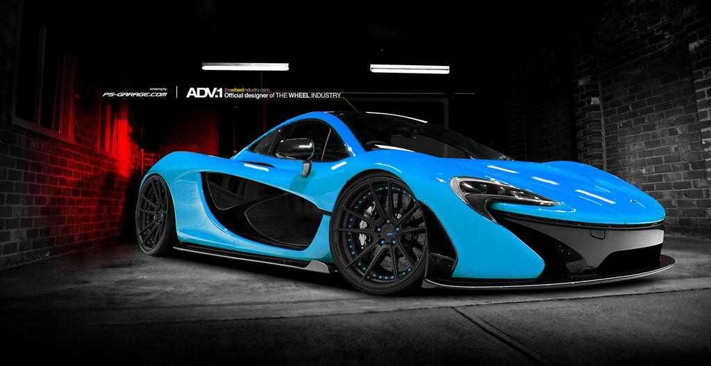 deadmau5's mclaren p1 to be bright blue - gtspirit