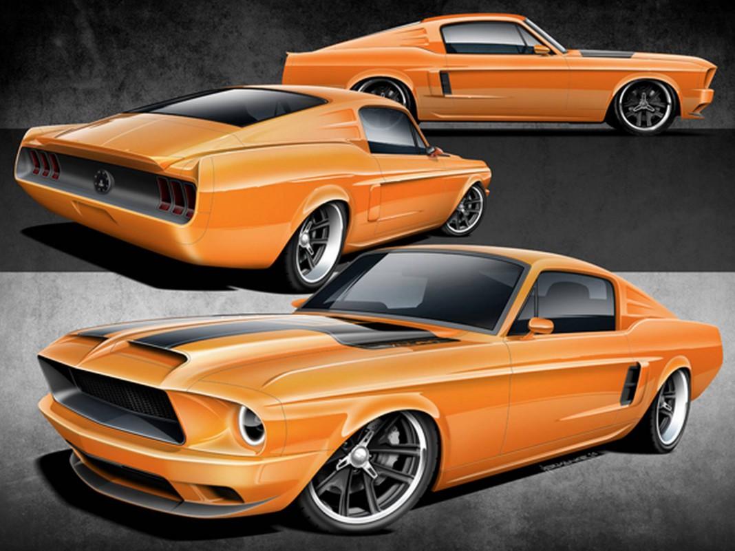 1968 Fastback Mustang Villain