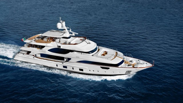 Crystal 140' Superyacht by Benetti