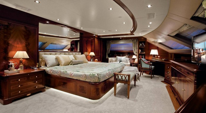 Crystal 140' Superyacht by Benetti